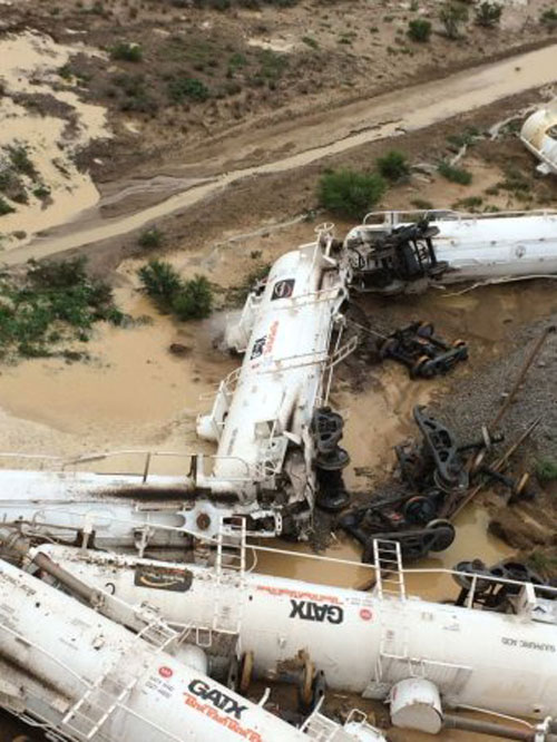 Difficult access to rail tank cars