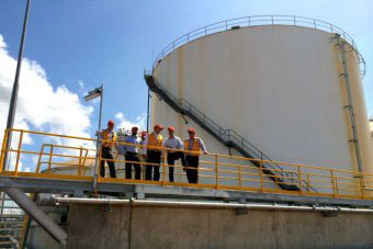 """8 million litre Darwin Storage tank"