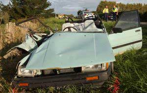 Car in New Zealand incident