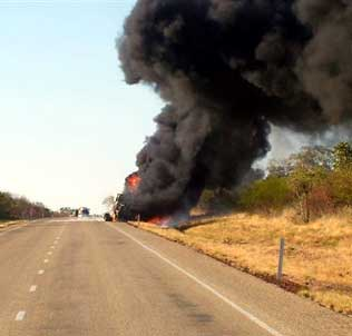 Northern Territory tanker fire
